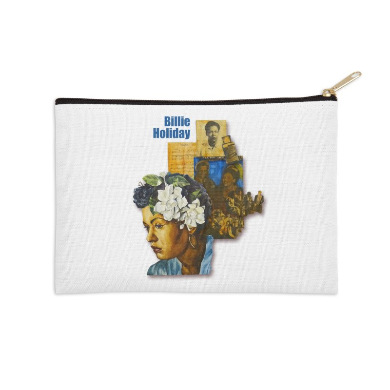 Billie Holiday Accessories Zip Pouch by Afro Triangle's