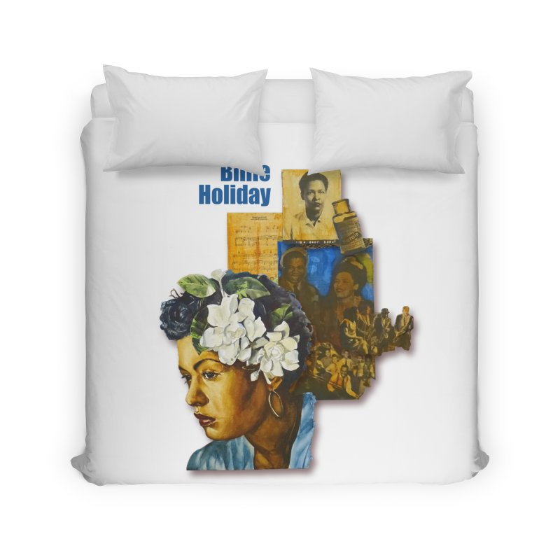 Billie Holiday Home Duvet by Afro Triangle's