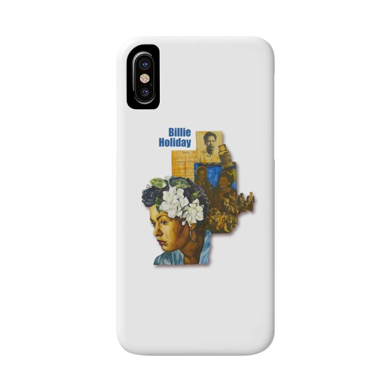 Billie Holiday Accessories Phone Case by Afro Triangle's