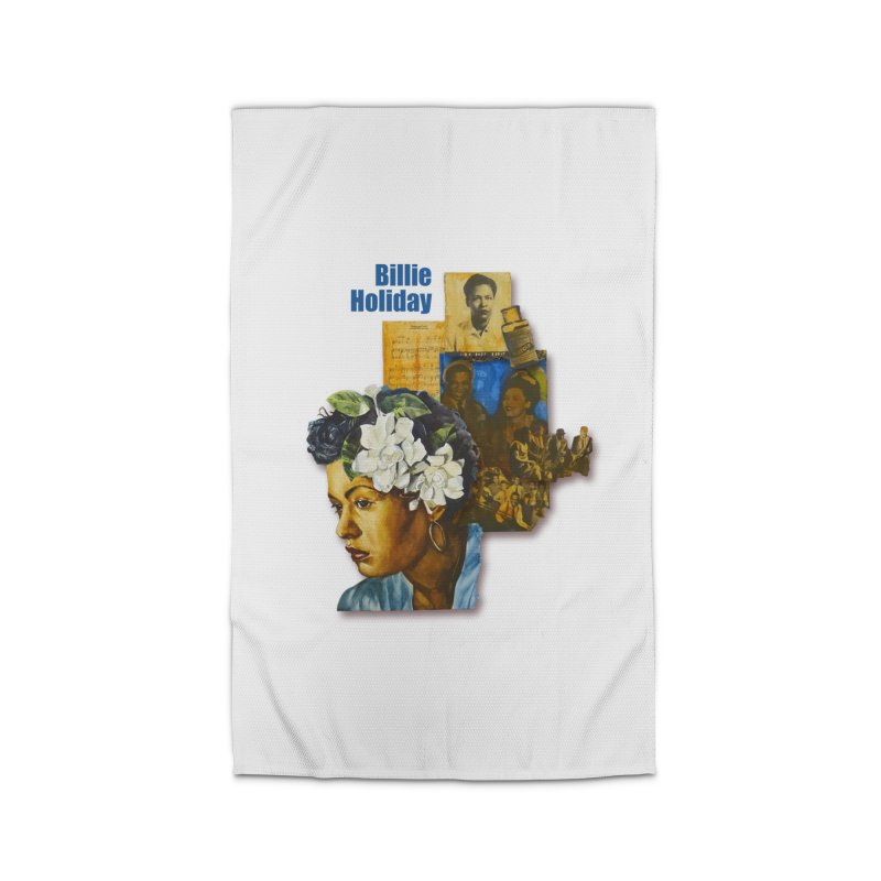 Billie Holiday Home Rug by Afro Triangle's