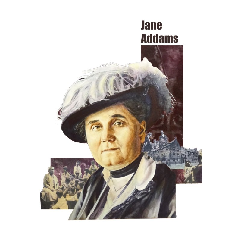 Jane Addams Home Fine Art Print by Afro Triangle's