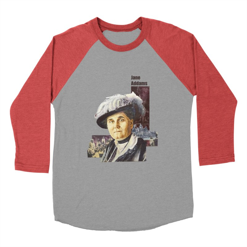 Jane Addams Men's Longsleeve T-Shirt by Afro Triangle's