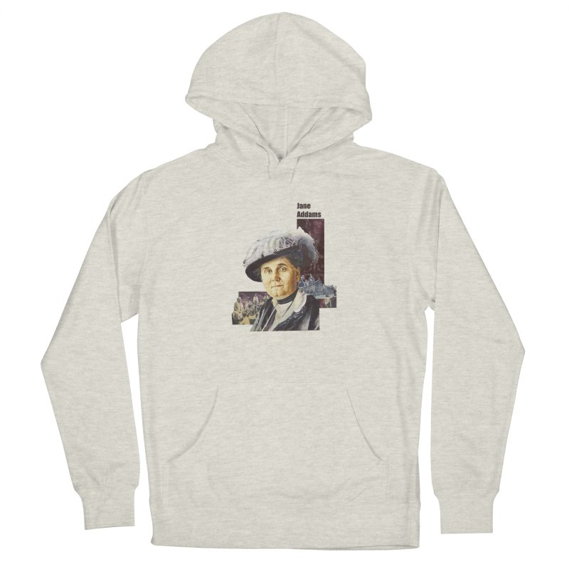 Jane Addams Women's French Terry Pullover Hoody by Afro Triangle's