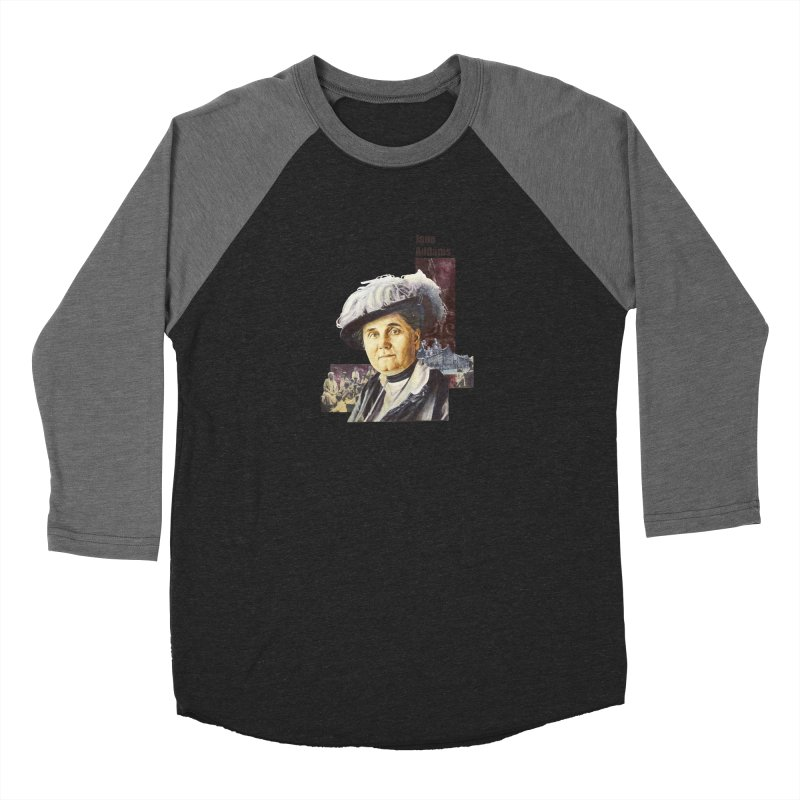 Jane Addams Women's Longsleeve T-Shirt by Afro Triangle's