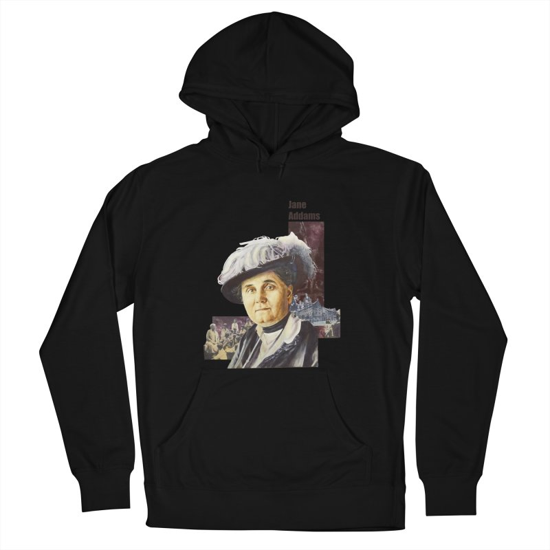 Jane Addams Men's French Terry Pullover Hoody by Afro Triangle's