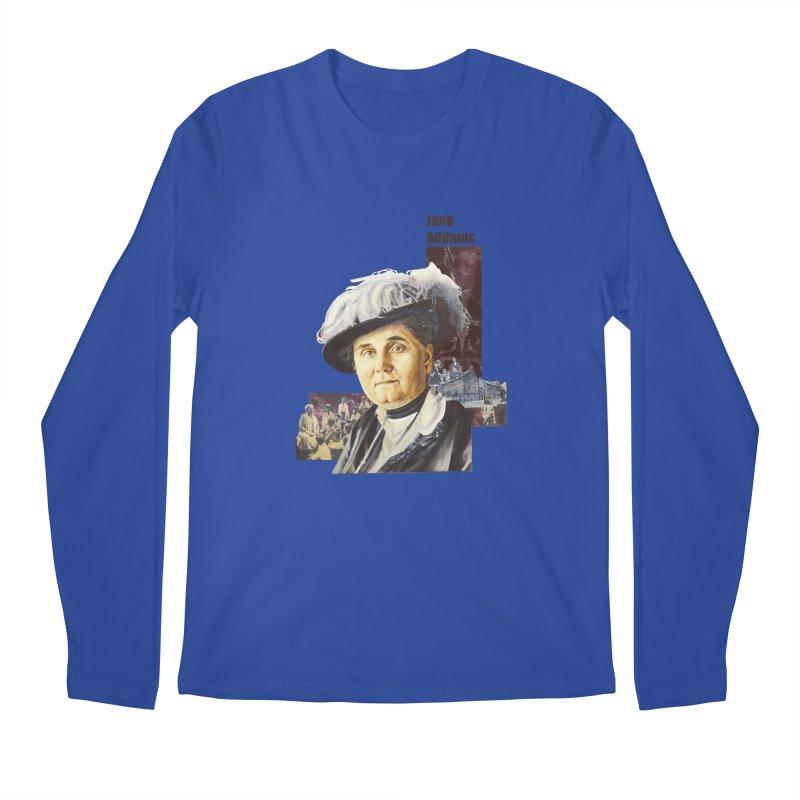 Jane Addams Men's Regular Longsleeve T-Shirt by Afro Triangle's