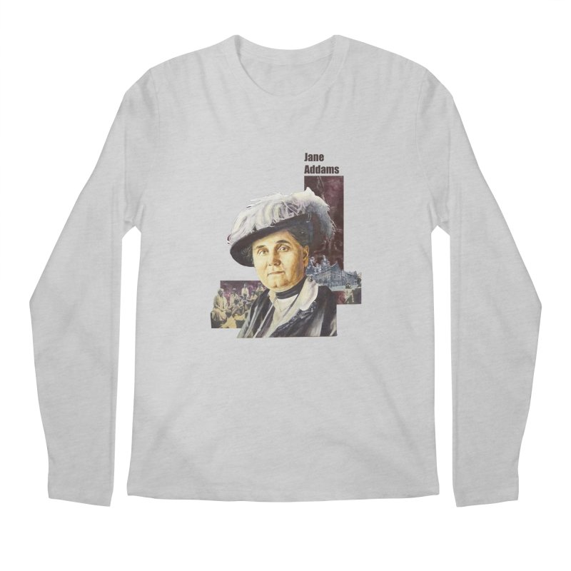 Jane Addams Men's Regular Longsleeve T-Shirt by Afro Triangle's