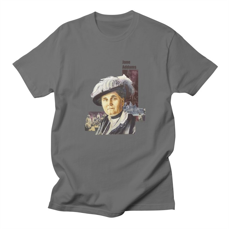 Jane Addams Men's T-Shirt by Afro Triangle's
