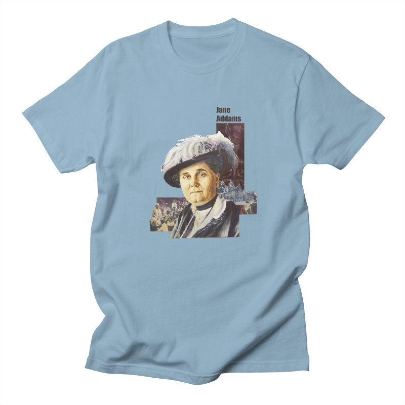 Jane Addams Women's Unisex T-Shirt by Afro Triangle's