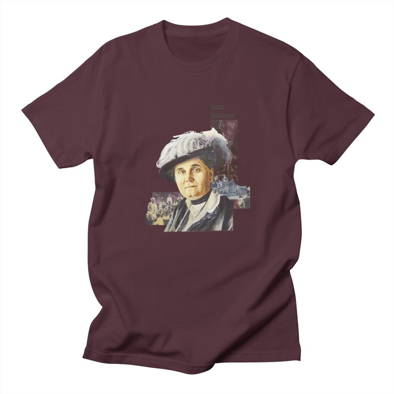 Jane Addams Women's Regular Unisex T-Shirt by Afro Triangle's