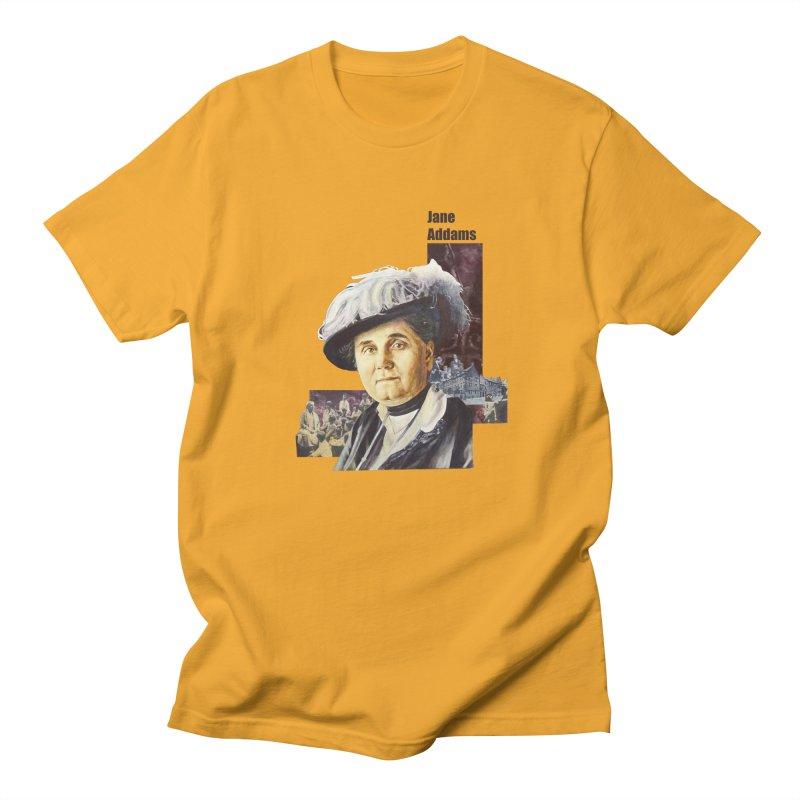 Jane Addams Women's Regular Unisex T-Shirt by Afro Triangle's