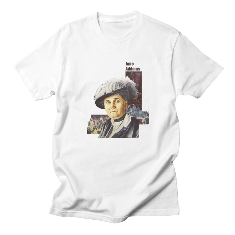 Jane Addams Men's Regular T-Shirt by Afro Triangle's