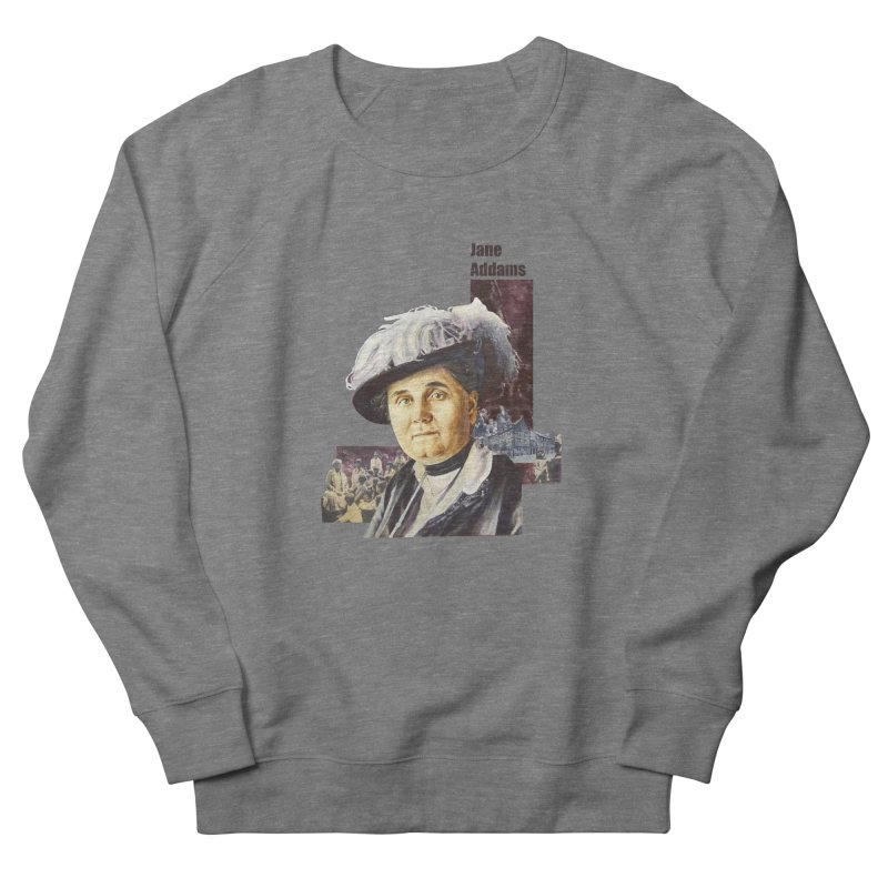 Jane Addams Women's French Terry Sweatshirt by Afro Triangle's