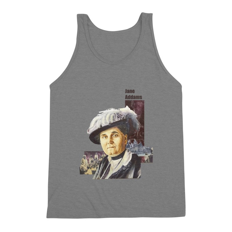 Jane Addams Men's Tank by Afro Triangle's