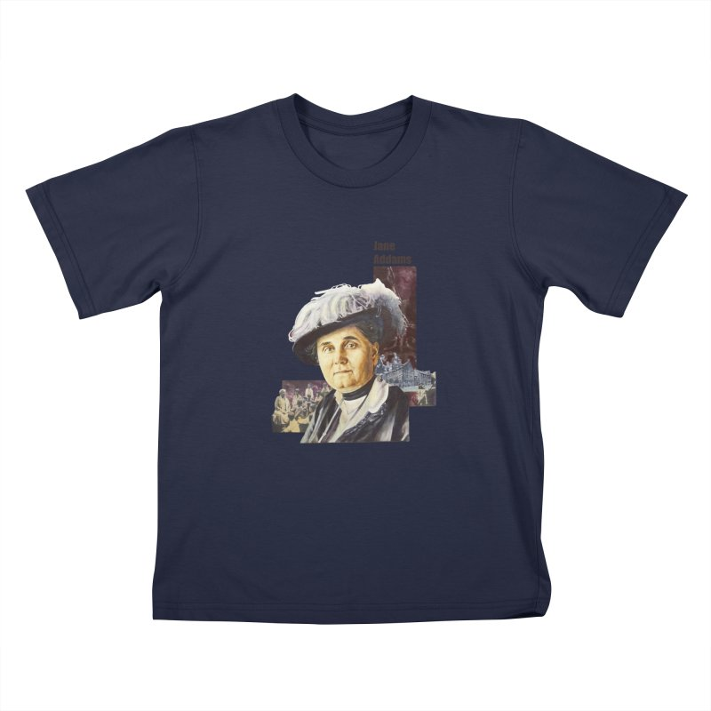 Jane Addams Kids Toddler T-Shirt by Afro Triangle's