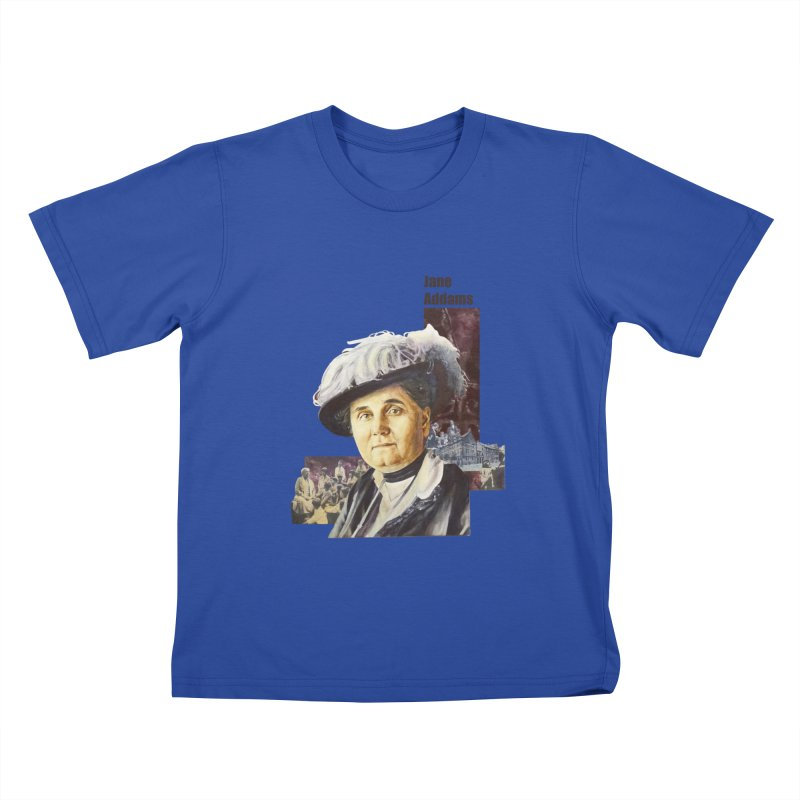 Jane Addams Kids T-Shirt by Afro Triangle's