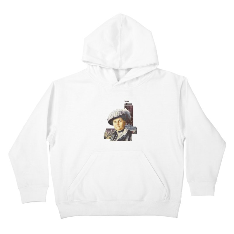 Jane Addams Kids Pullover Hoody by Afro Triangle's