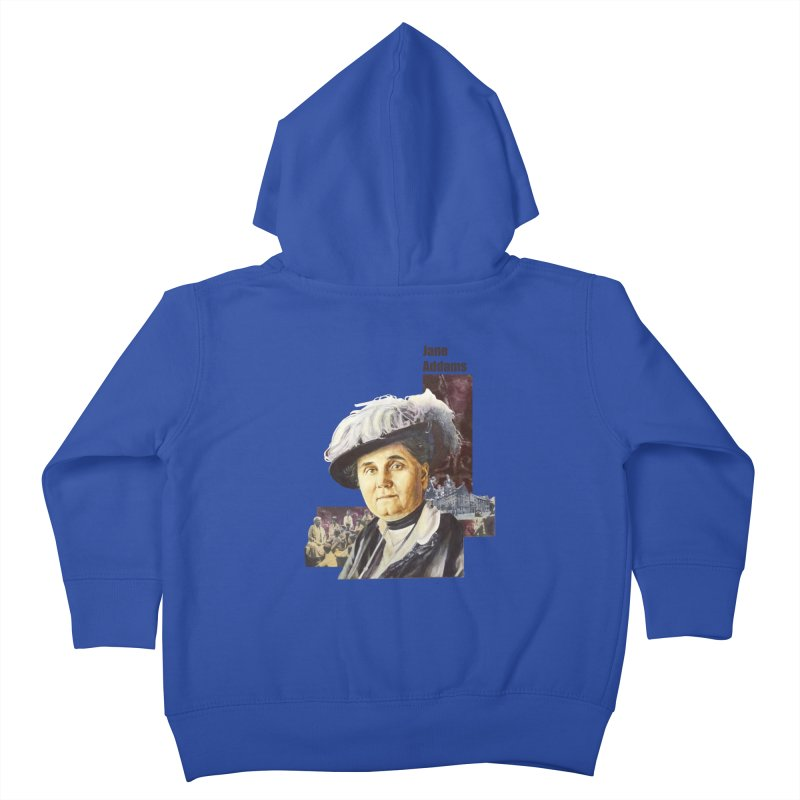 Jane Addams Kids Toddler Zip-Up Hoody by Afro Triangle's