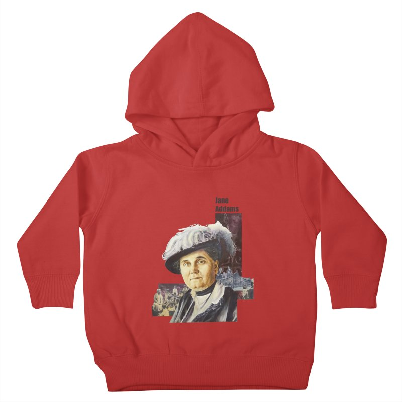 Jane Addams Kids Toddler Pullover Hoody by Afro Triangle's