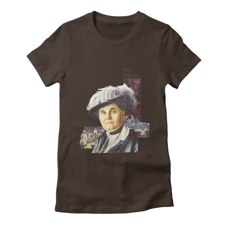 Jane Addams Women's T-Shirt by Afro Triangle's