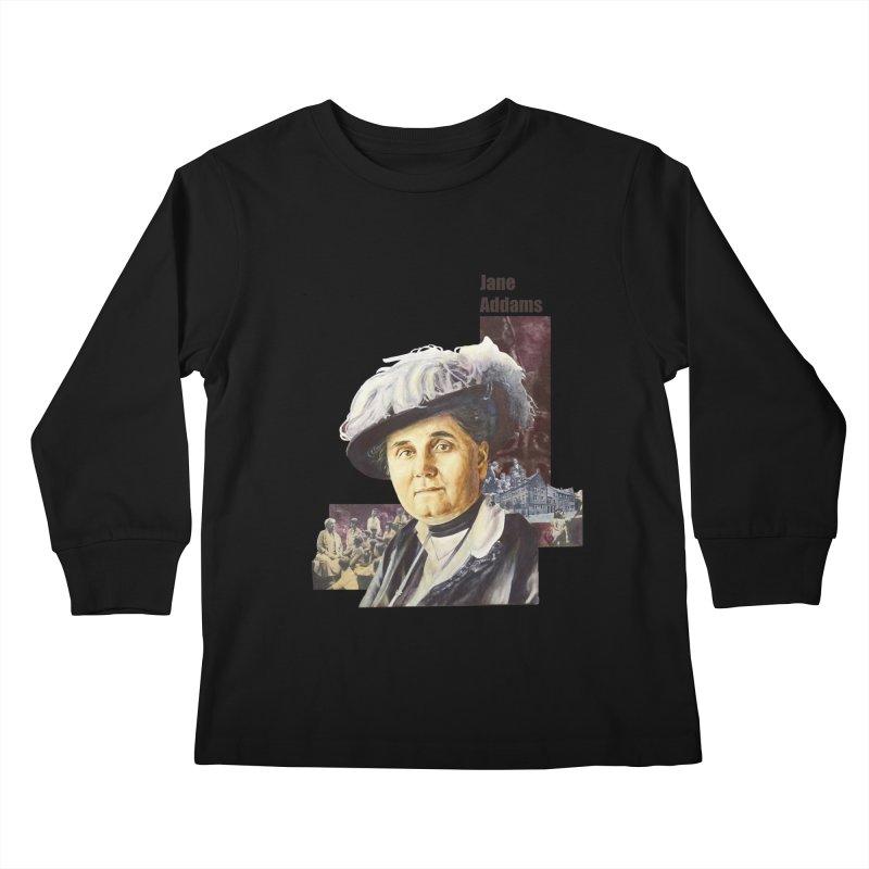 Jane Addams Kids Longsleeve T-Shirt by Afro Triangle's