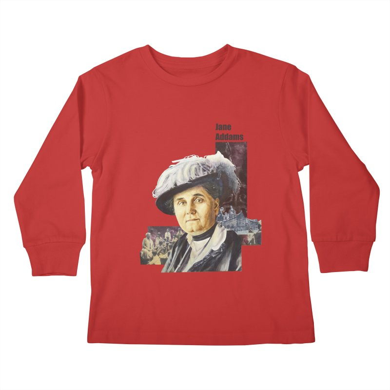 Jane Addams Kids Longsleeve T-Shirt by Afro Triangle's