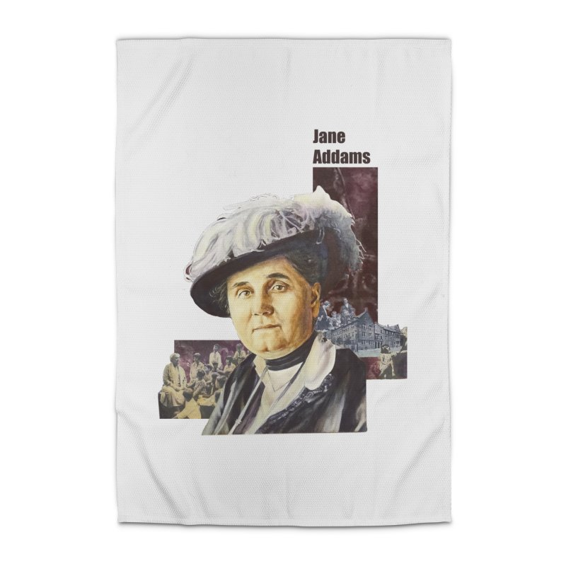 Jane Addams Home Rug by Afro Triangle's