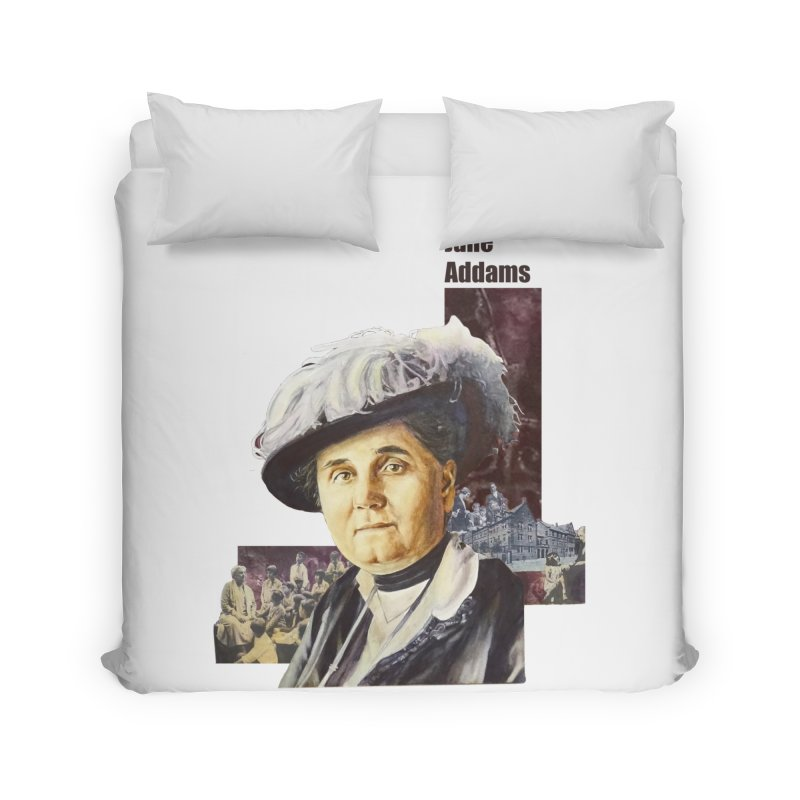 Jane Addams Home Duvet by Afro Triangle's