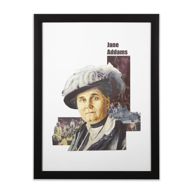 Jane Addams Home Framed Fine Art Print by Afro Triangle's