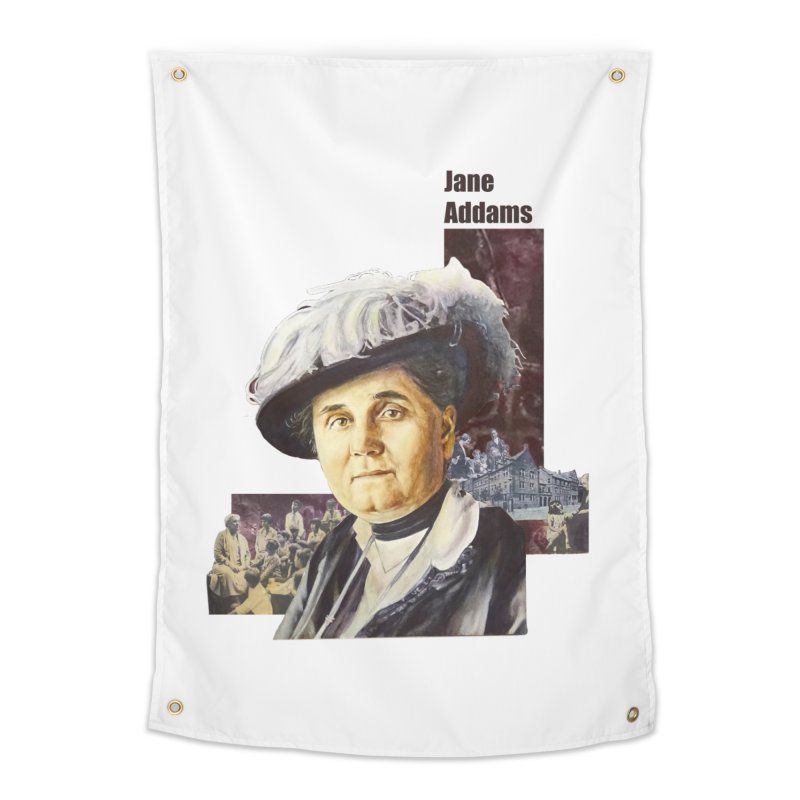 Jane Addams Home Tapestry by Afro Triangle's