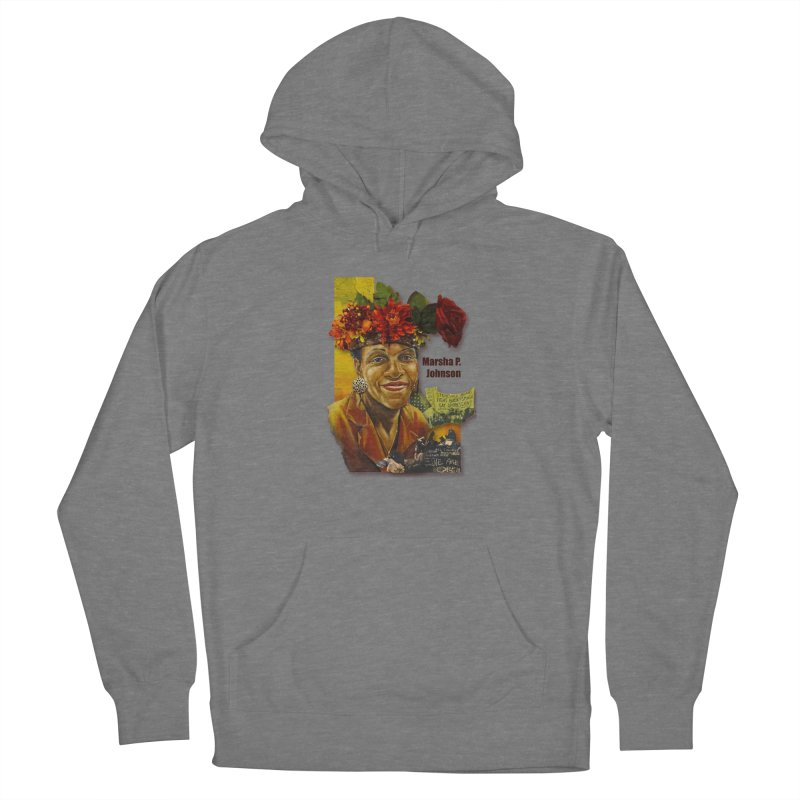 Marsha P Johnson Women's Pullover Hoody by Afro Triangle's