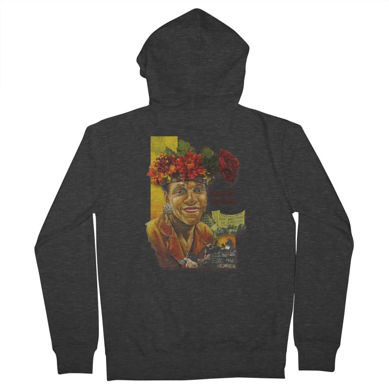 Marsha P Johnson Women's French Terry Zip-Up Hoody by Afro Triangle's