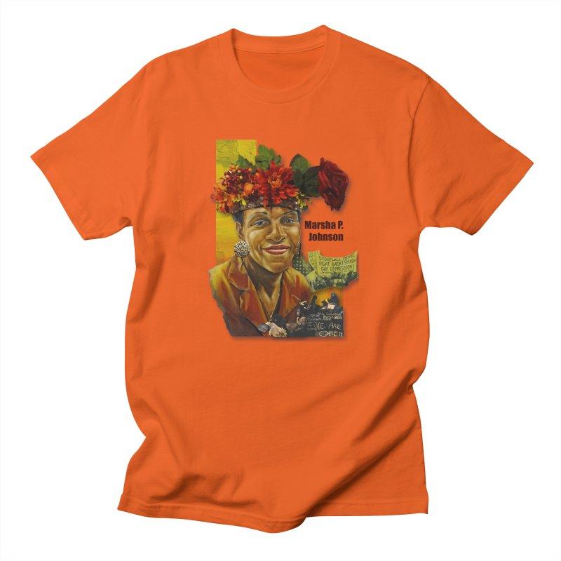 Marsha P Johnson Men's Regular T-Shirt by Afro Triangle's