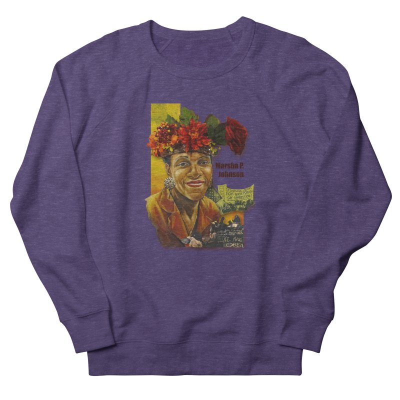 Marsha P Johnson Women's Sweatshirt by Afro Triangle's