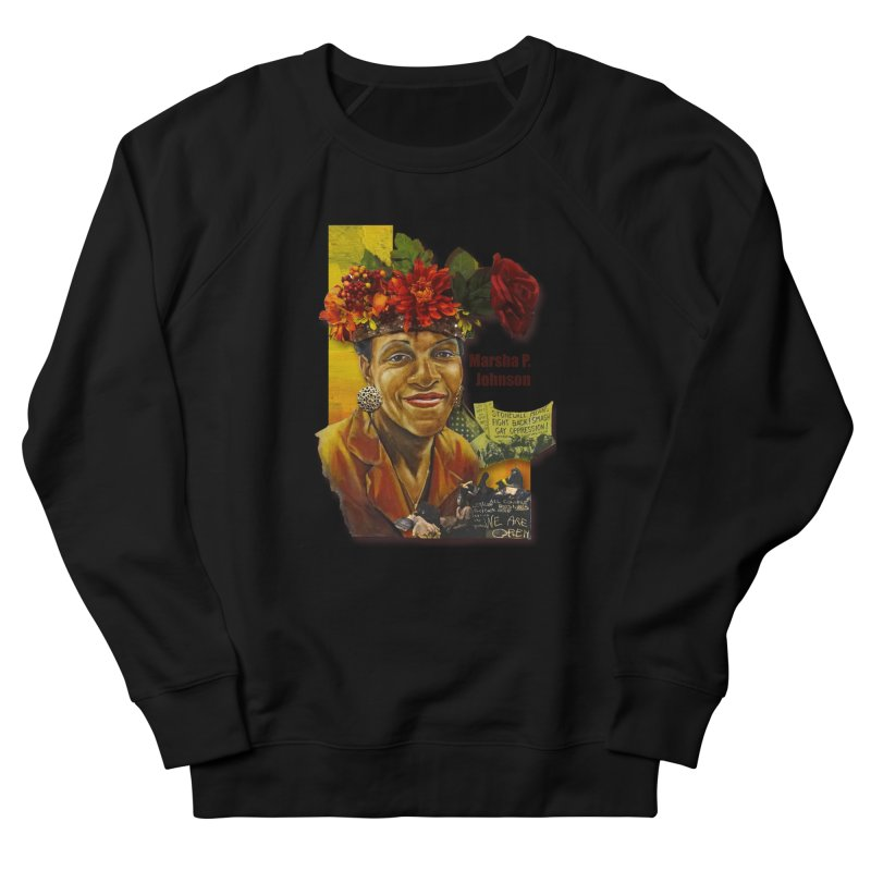 Marsha P Johnson Women's Sweatshirt by Afro Triangle's