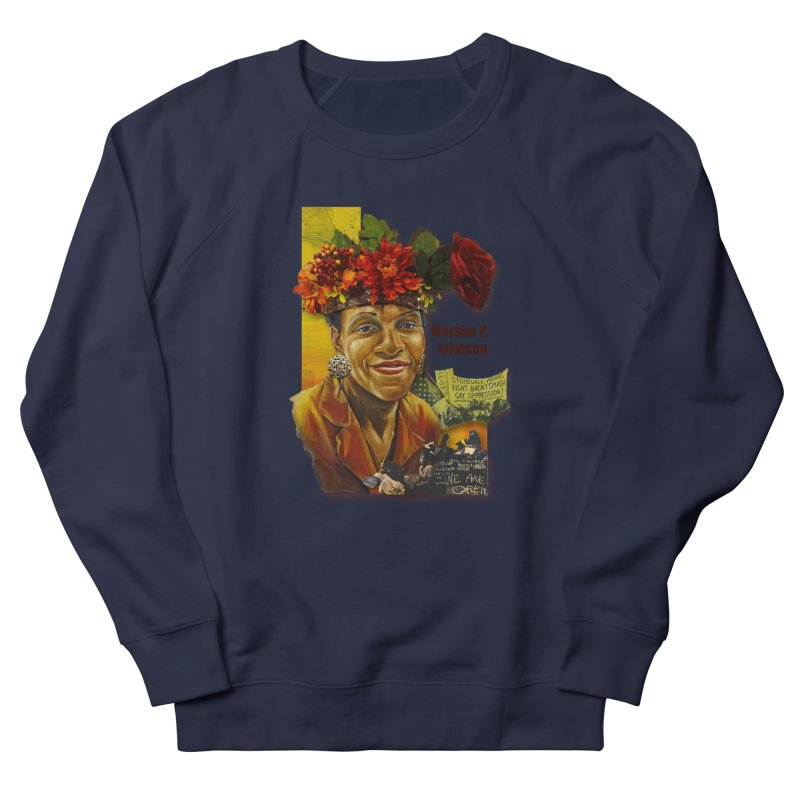 Marsha P Johnson Women's French Terry Sweatshirt by Afro Triangle's