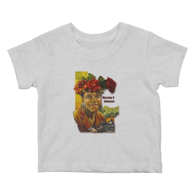 Marsha P Johnson Kids Baby T-Shirt by Afro Triangle's
