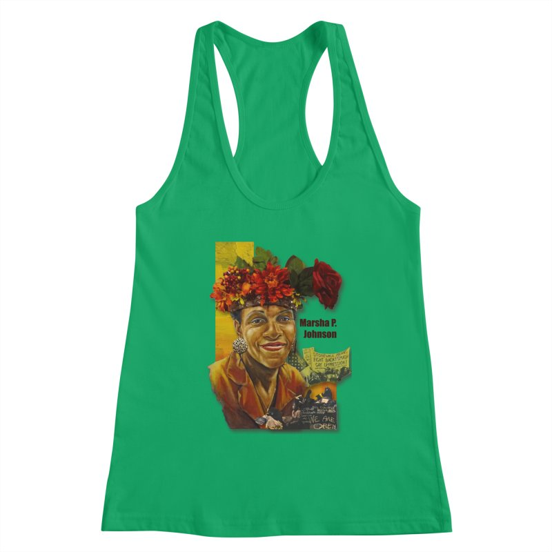 Marsha P Johnson Women's Tank by Afro Triangle's
