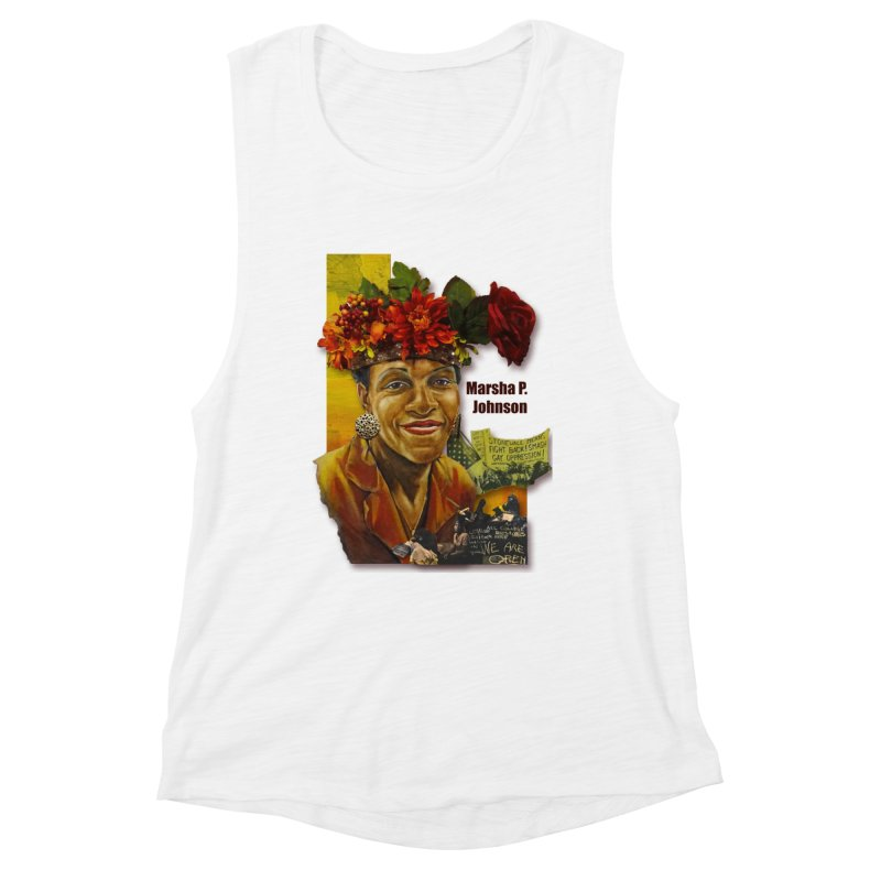 Marsha P Johnson Women's Tank by Afro Triangle's