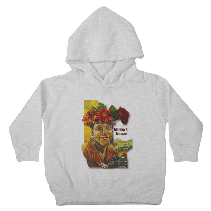 Marsha P Johnson Kids Toddler Pullover Hoody by Afro Triangle's