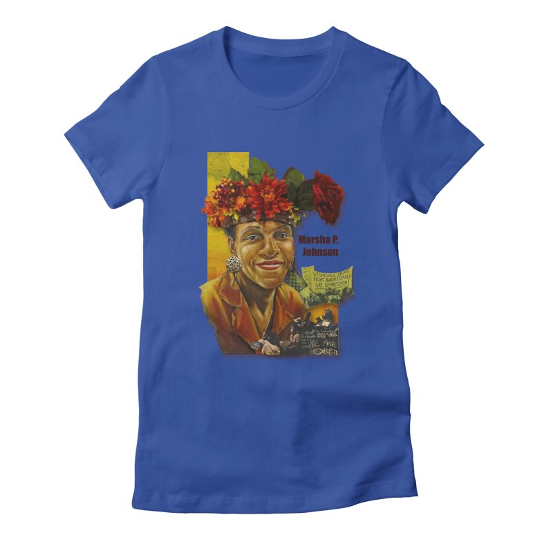 Marsha P Johnson Women's T-Shirt by Afro Triangle's