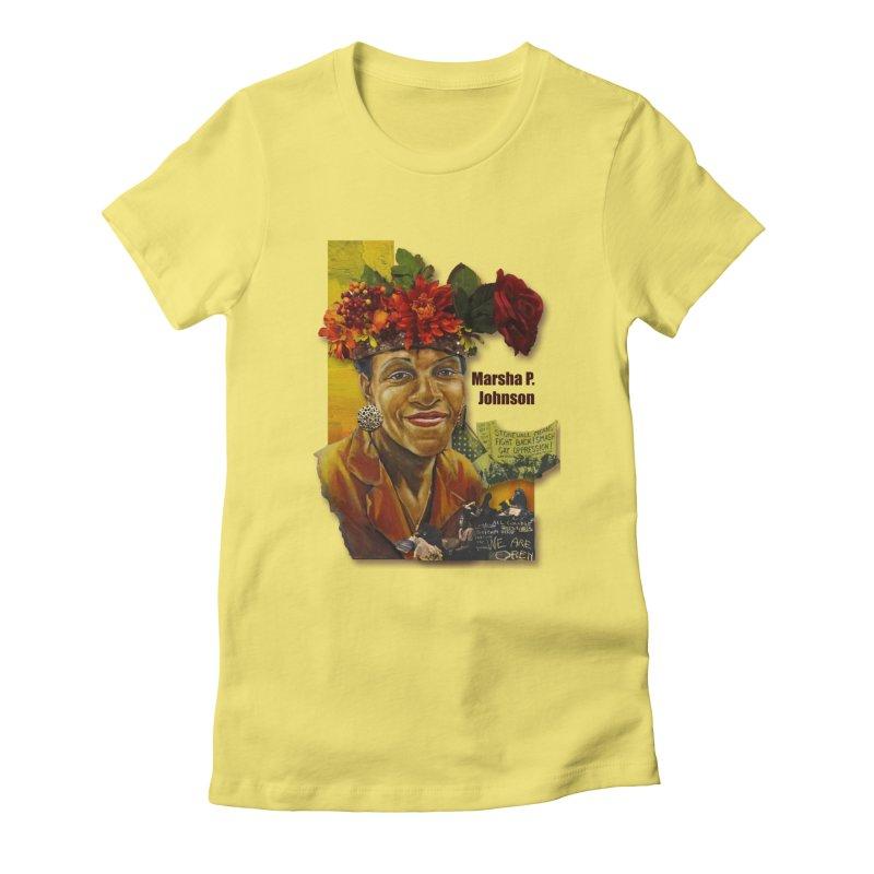 Marsha P Johnson Women's T-Shirt by Afro Triangle's
