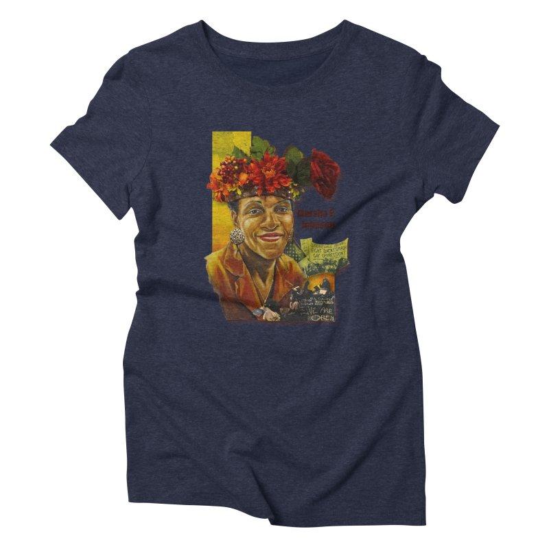 Marsha P Johnson Women's Triblend T-Shirt by Afro Triangle's