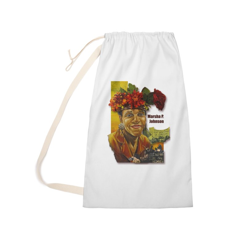 Marsha P Johnson Accessories Laundry Bag Bag by Afro Triangle's