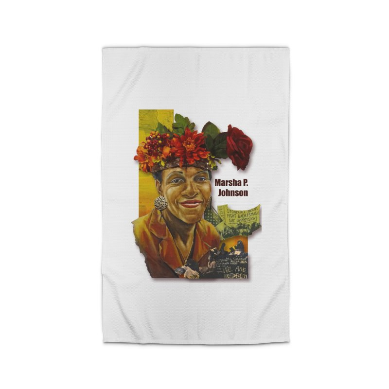 Marsha P Johnson Home Rug by Afro Triangle's