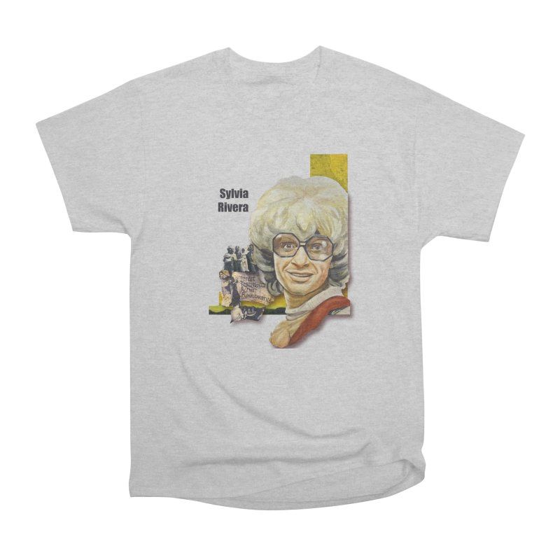 Silvia Rivera Women's Heavyweight Unisex T-Shirt by Afro Triangle's
