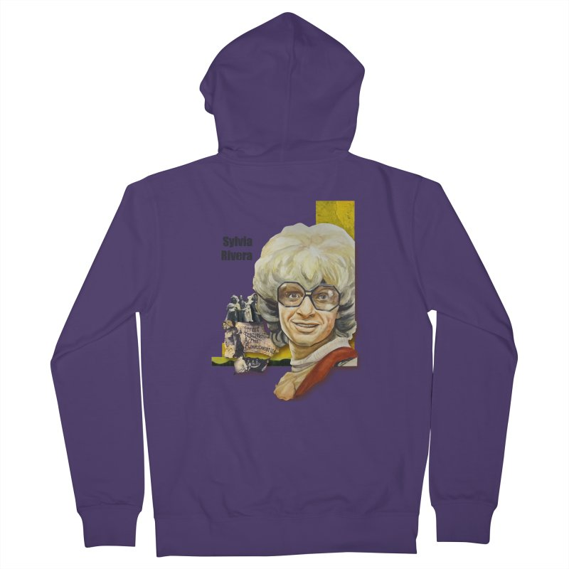 Silvia Rivera Women's Zip-Up Hoody by Afro Triangle's