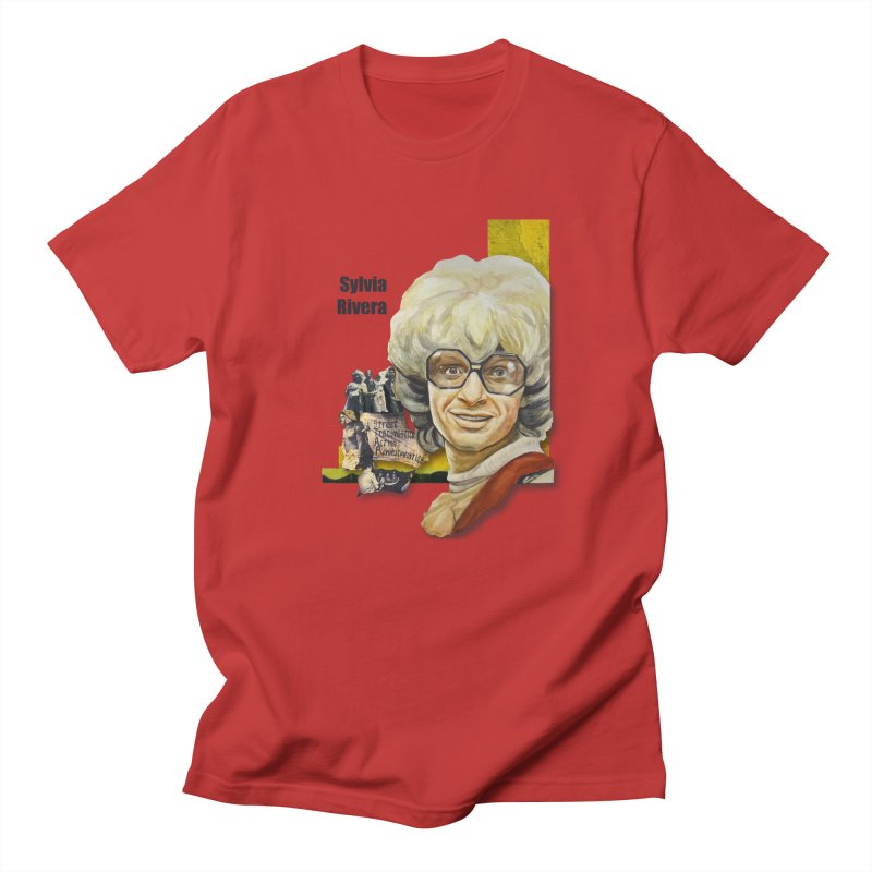 Silvia Rivera Women's Unisex T-Shirt by Afro Triangle's
