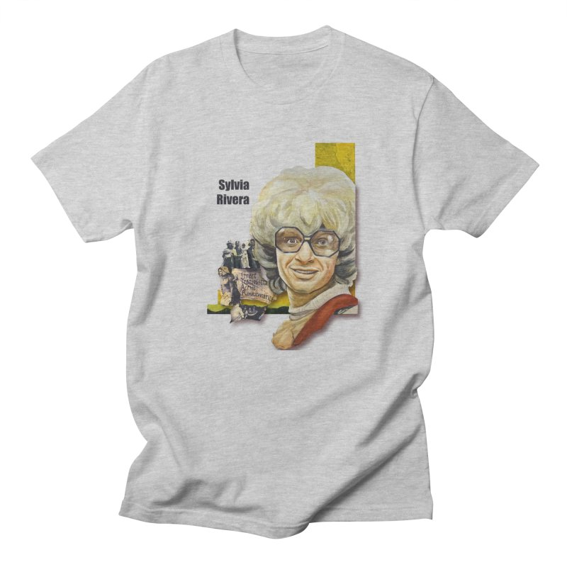 Silvia Rivera Men's T-Shirt by Afro Triangle's
