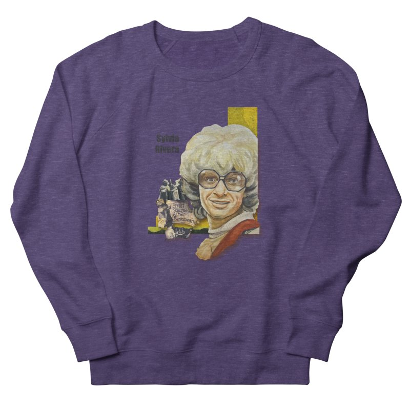 Silvia Rivera Men's French Terry Sweatshirt by Afro Triangle's